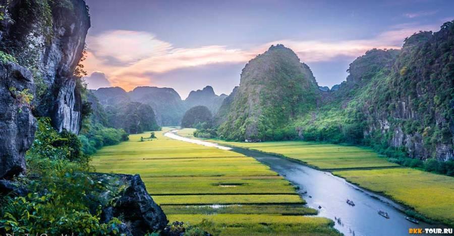 Вьетнамская провинция Ниньбинь (Ninh Bình)