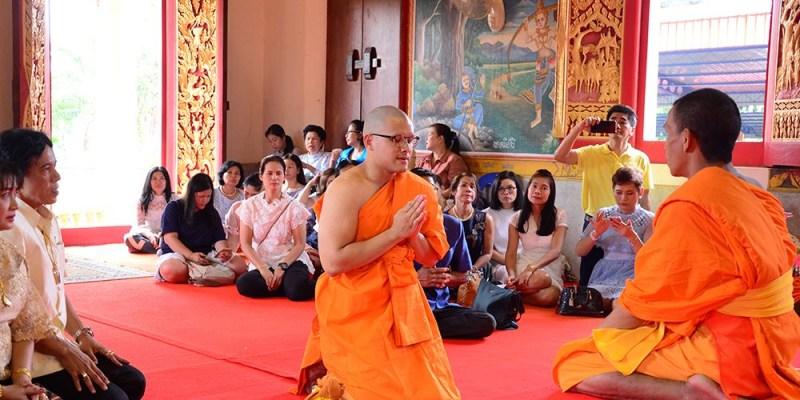 【泰國文化】泰國男生的成年禮-出家當和尚,這篇告訴你為何泰國男生要出家以及出家過程、出家後要做什麼