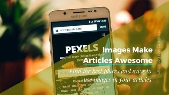Yes, Your Articles Need Images