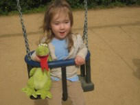It is better to swing when you swing with a dragon.