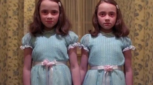 The Grady Twins, from The Shining (1980)
