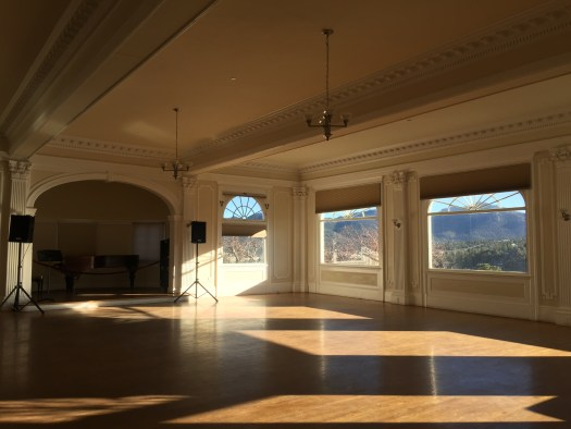 The Music Room at The Stanley Hotel (Photo © 2018 Sonja Lessley)