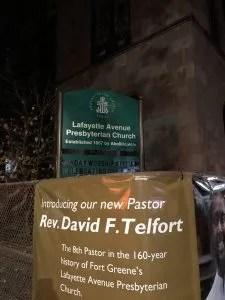 Lafayette Avenue Presbyterian Church Fort Greene.Photo (© Anthony Long 2018)