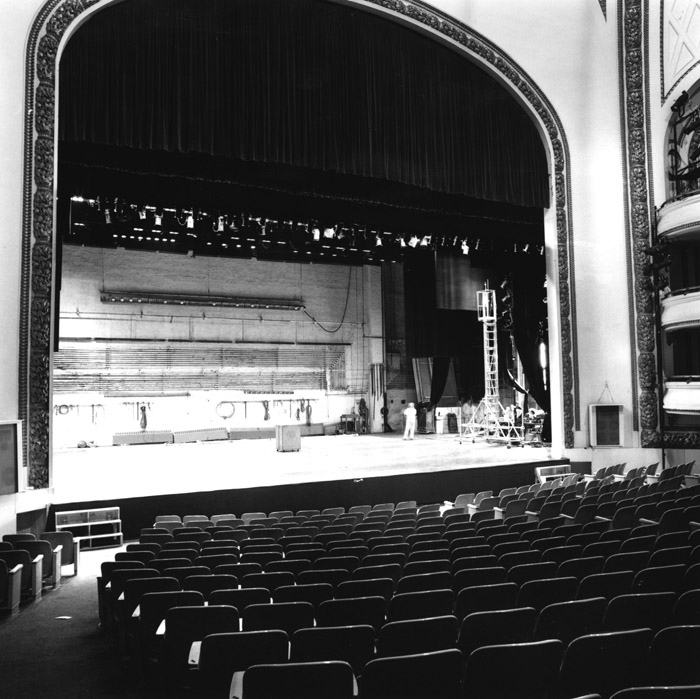 Howard Gilman Opera House in 1978, photo by Dinanda H. Nooney