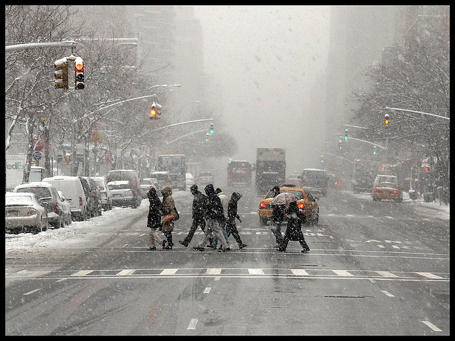 Snow Storm Headed to NYC