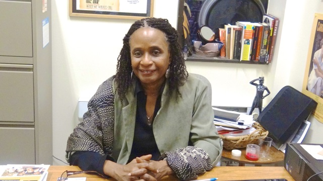 Dr. Brenda M. Greene, professor of English and founder and executive director of the Center of Black Literature at Medgar Evers College.