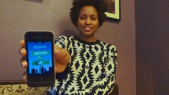 """Janine Hausif, founder and CEO of """"Around The Way"""" app"""