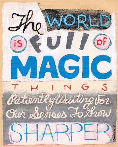 Harriet Faith, Art, Hand lettering, Inspirational Quote, W. B. Yeats, Dreams, Pay Attention To Your Dreams, Painting, Acrylic, Magic
