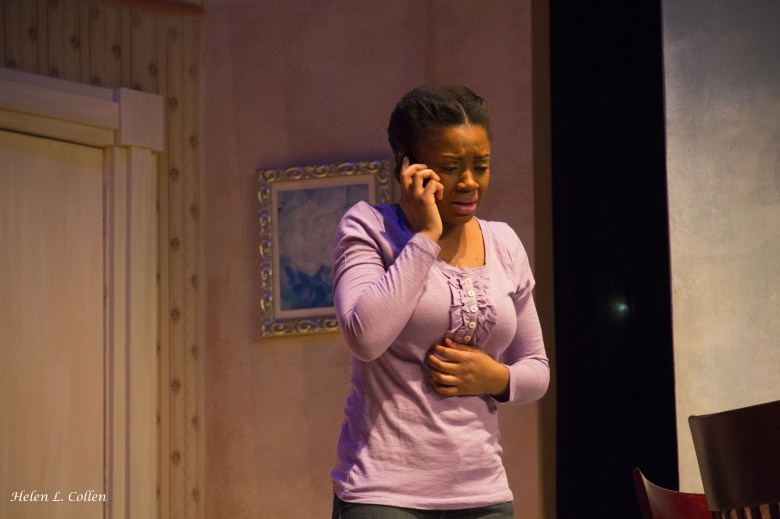 """Joan Anderson in """"Maid's Door"""" by Cheryl Davis, playing now at The Billie Holiday Theatre"""