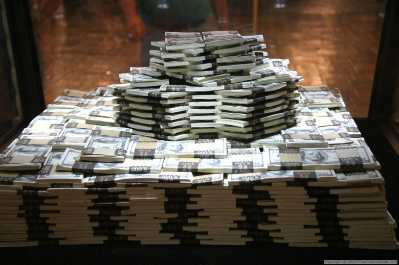 stacks on stacks and not a buck to the ballers