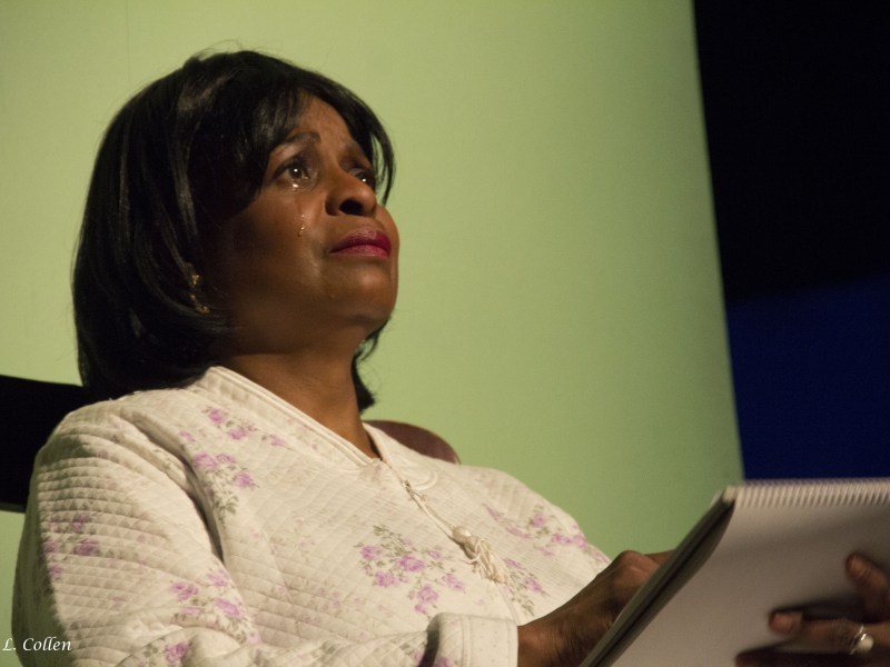 """Scottie Mills plays Ida in """"Maid's Door"""" by Cheryl Davis, playing now at The Billie Holiday Theatre"""