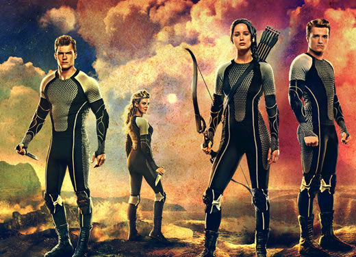 """Characters from """"Catching Fire,"""" the second film adaptation of Suzanne Collins' Hunger Games trilogy"""