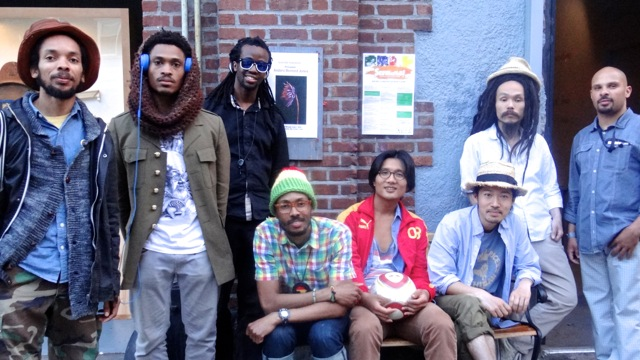 The Brown Rice Family Band at The Selebrasyon Kick-Off event at Five Myles Gallery, 5/17/14