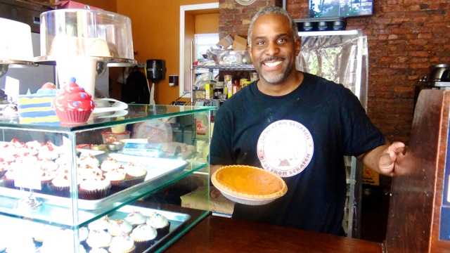 Raymond Williams, owner and head baker at Sweet Lee's Desserts