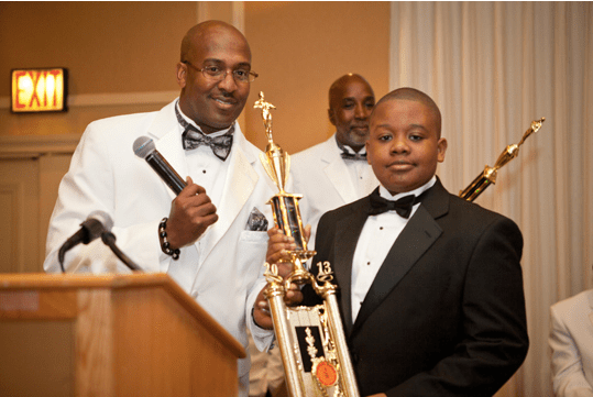 young participant at the Annual Rites of Passage and Awards Gala 2013