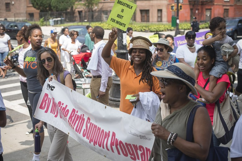 The Sixth Annual Breastfeeding Walk through Bedford Stuyvesant and Crown Heights
