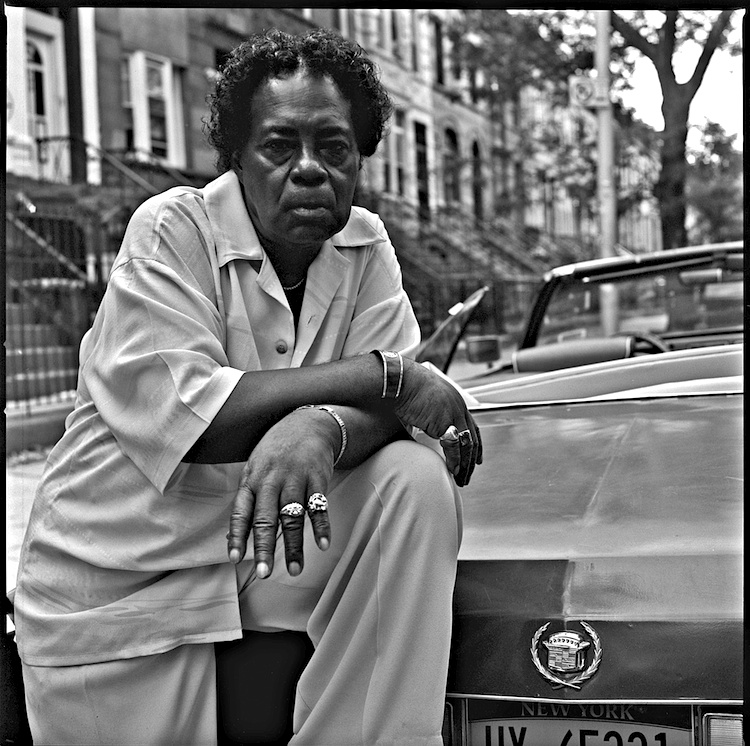 Summer, 2014 -- Mr. Thomas Barnes is originally from Norfolk, Virginia and has been a resident of Bedford Stuyvesant for over 50 years. He retired after 25 years of service from the Dept. of Welfare. He is standing next to his 1974 Eldorado Cadillac. Photo: Russell Frederick