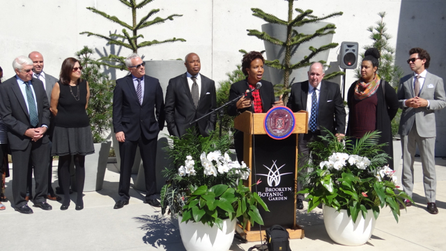 City Councilmember, flanked by leaders of major arts and cultural institutions in her district, announces $22 Million in capital funding