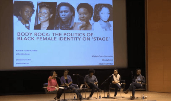 Triple Consciousness: Body Rock, the first panel discussion at the Brooklyn Museum