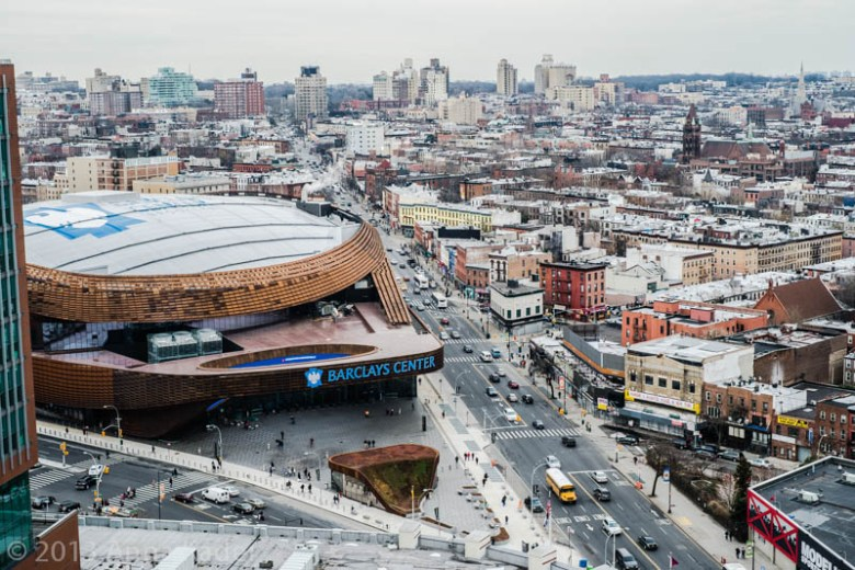 Barclays Center - aerial view  Photo: accordrealestategroup.com