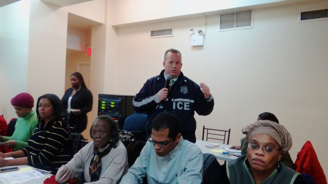 79th Pct. Deputy Inspector John Chell discusses community police relations in Bedford-Stuyvesant