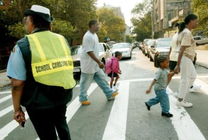 School Crossing Guards Chastise Low Wages, Vision Zero Plan