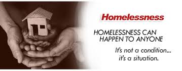 Homelessness can happen to anyone.