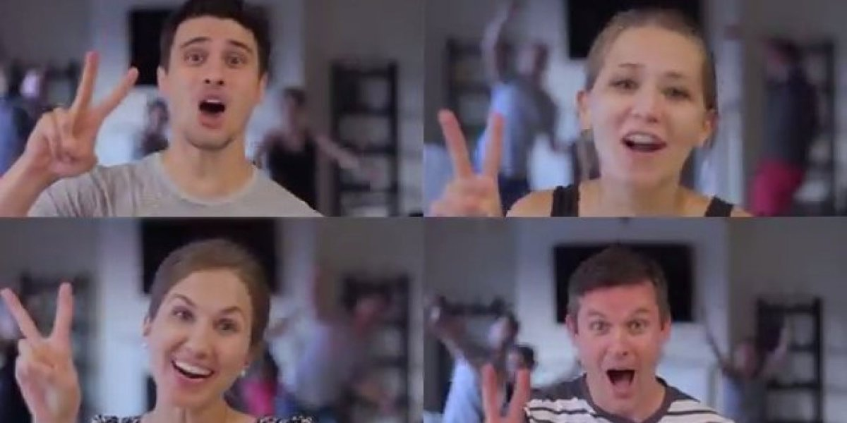 Parents Parody 'Shut Up And Dance' For An Energetic Double Pregnancy Announcement