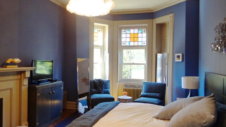One of the rooms for rent at Arlington Place Bed and Breakfast