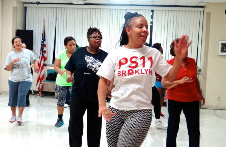 """City Councilmember Laurie Cumbo launches """"Fit in the 35th"""" by participating in free, a local Zumba class"""