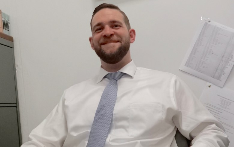 Michael Corcoran, attorney at Grow Brooklyn, a non-profit organization that provides low-cost housing counseling