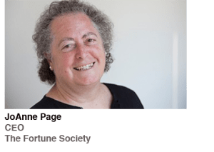 JoAnne Page, CEO, The Fortune Society