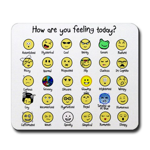 Take your choice!  You are feeling ONE of these right now!