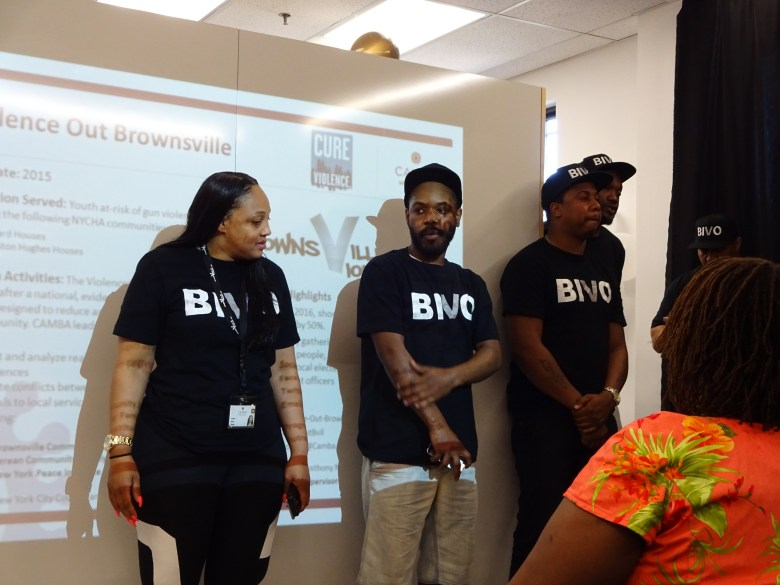 BIVO, Brownsville In Violence Out, gun violence awareness, opening office, brownsville, CAMBA