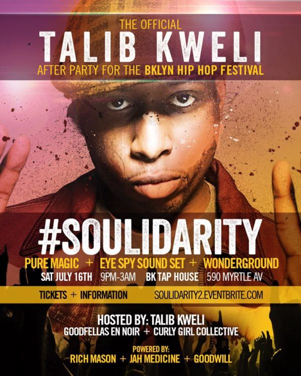 Talib And The Party Gang Of 3