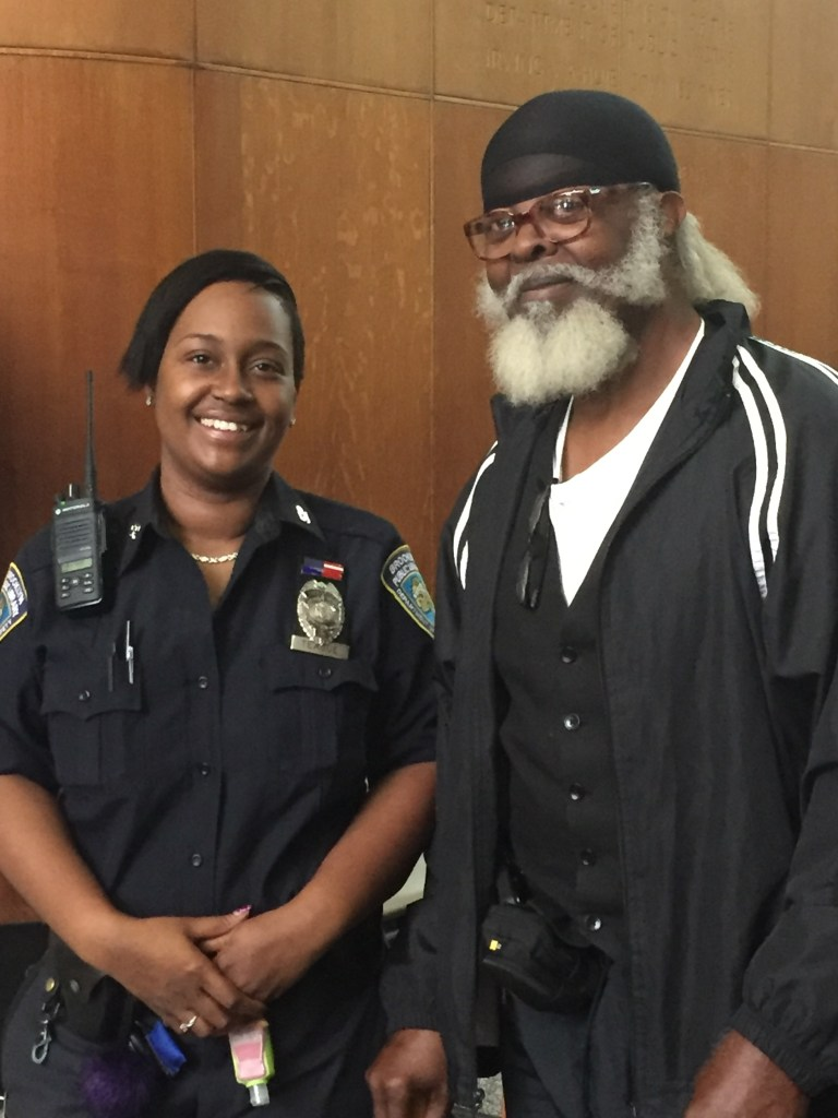 McMillan Recognized by Security Guard