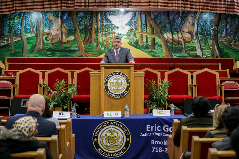 Brooklyn District Attorney, Acting Brooklyn District Attorney Eric Gonzalez, immigrants, detention, immigration, deportation, sanctuary city, New York City, U.S. Department of Justice, New York Immigration Coalition, New York City crime rate, NYC sanctuary city