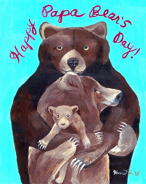 Harriet Faith, Creativity, Art, Illustration, Pay Attention To Your Dreams, Quotes, Inspiration, Motivation, Dreams, Hand Lettering, Drawing, Painting, Private Commission, Pets, Portraits, Children, Gifts, Holiday, Fathers Day, Papa Bear, Mama Bear, Baby Bear, Family, Love And Forgiveness