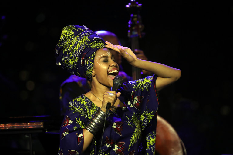 """Dr. Mary Umolu, BK Reader, Crown Heights, free Jazz, free concert, Medgar Evers College, Jazzy Jazz Festival, Jazz, Dr. Mary Umolu Jazzy Jazz Festival, Dr. Umolu Festival, Jazzmeia Horn, Lena Horn, Eric Wyatt Quartet, Steven Kroon & Sextet, MEC Jazz Ensemble, Hillard Greene and The Jazz Expressions, Melba Joyce and Friends, Ngoma's """"Not Your Average String Thing"""", Rhythm Healing featuring Bashiri Johnson with Frances Elizee and Alex Blake & Collective"""