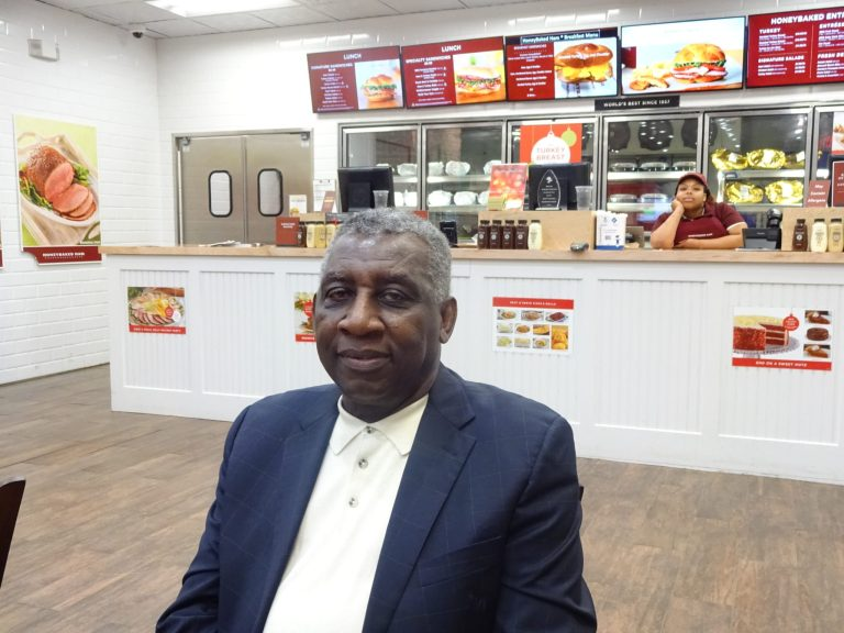 Honey Baked Ham owner Romles Gibbs is a Bed Stuy native trying to share a taste of the South with the neighborhood.