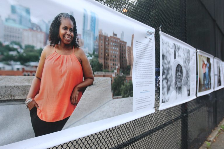 a community-based public art project celebrating the everyday heroes of our neighborhoods