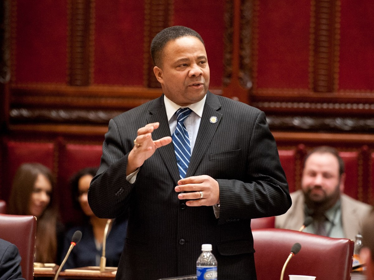 State Senator Jesse Hamilton launches first participatory budgeting at the state level