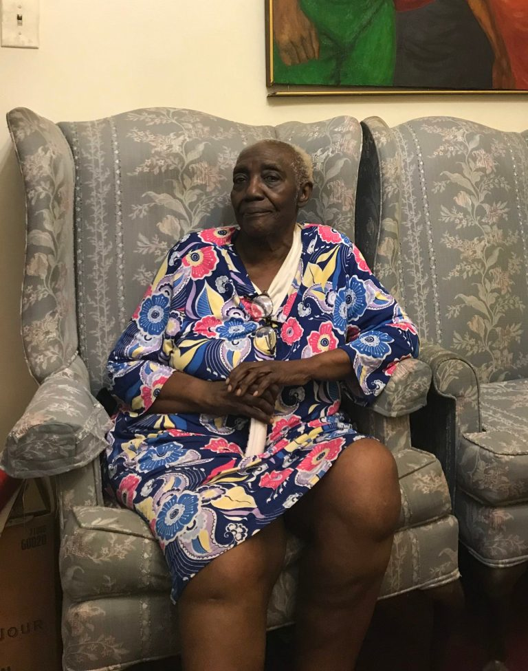 Lucille Moore was one of the homeowners who received critical repairs for her house.