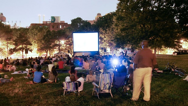 Movies under the Stars in Fort Greene Park
