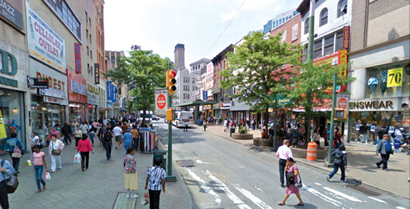 SONYC will be deploying sensors along Fulton Street Mall to monitor noise pollution.