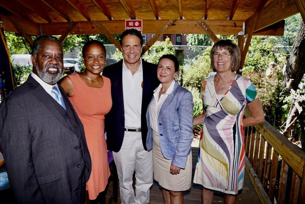 Governor Cuomo announces funding 3.1 million for Central Brooklyn community gardens.