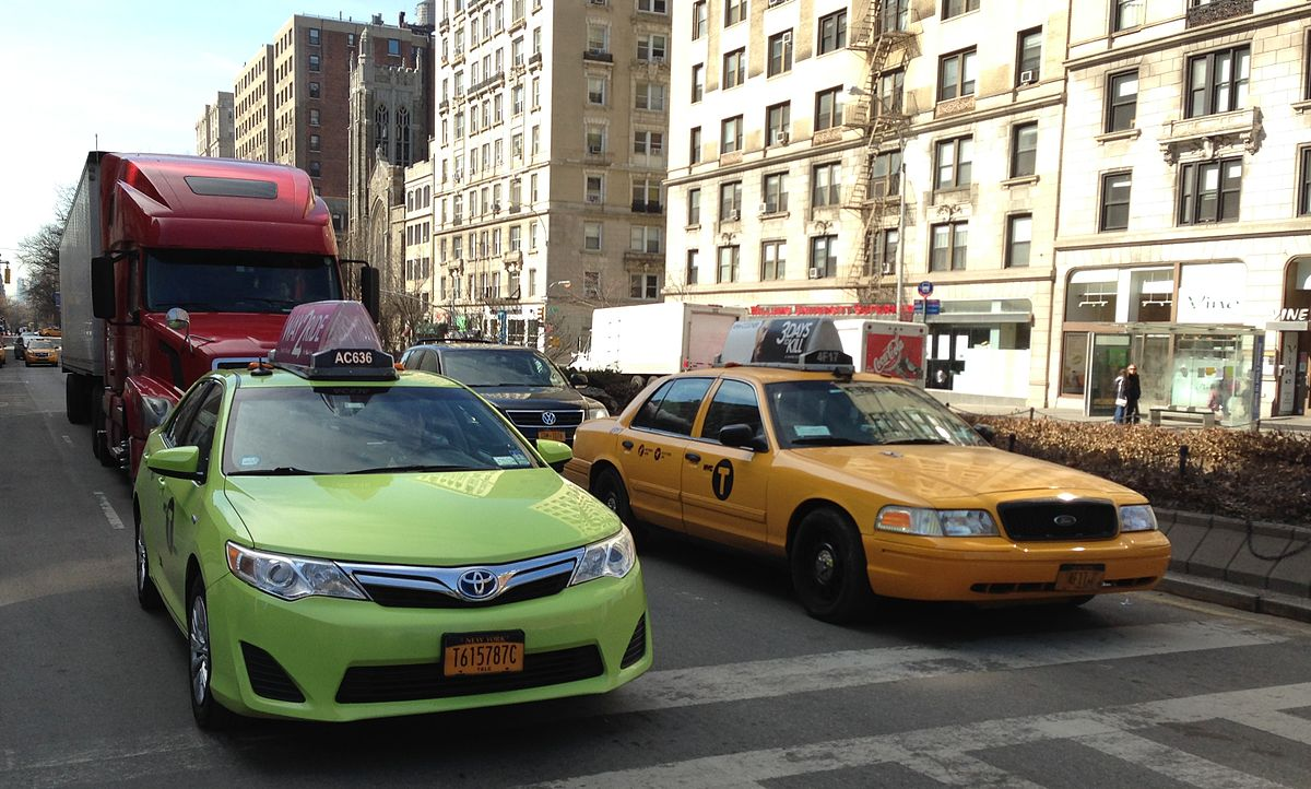 NYC taxis.