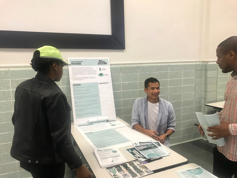 The Brooklyn Community Plan was unveiled on Saturday