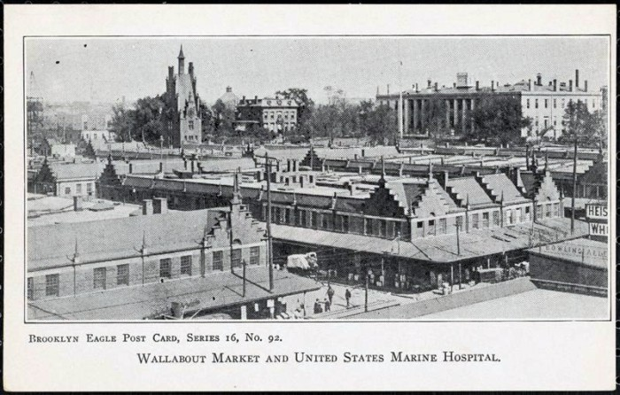 The historic Wallabout District