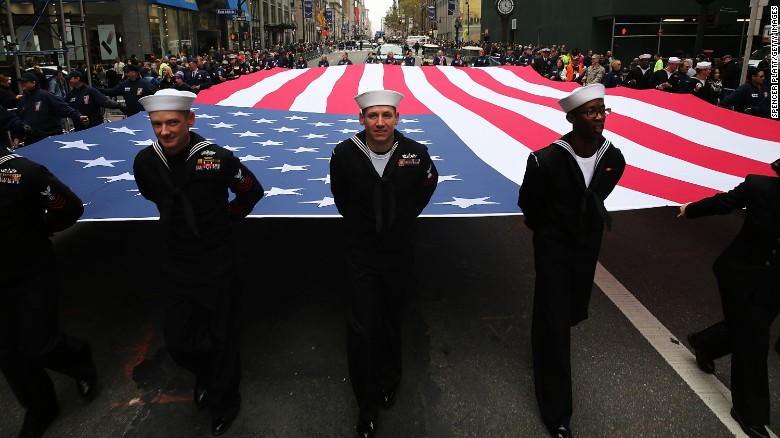 Veterans Day pays tribute to all American veterans—living or dead—but especially gives thanks to living veterans who served their country honorably during war or peacetime.
